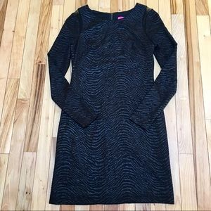 Betsey Johnson Long Sleeve Black Dress Size 6
